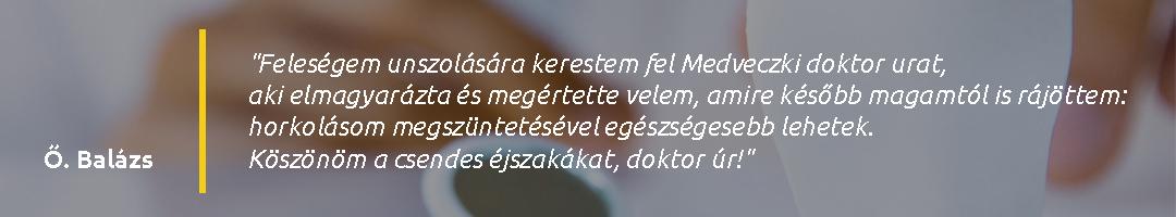 Gáspár Medical Center Dr. Medveczki Zoltán páciens vélemény