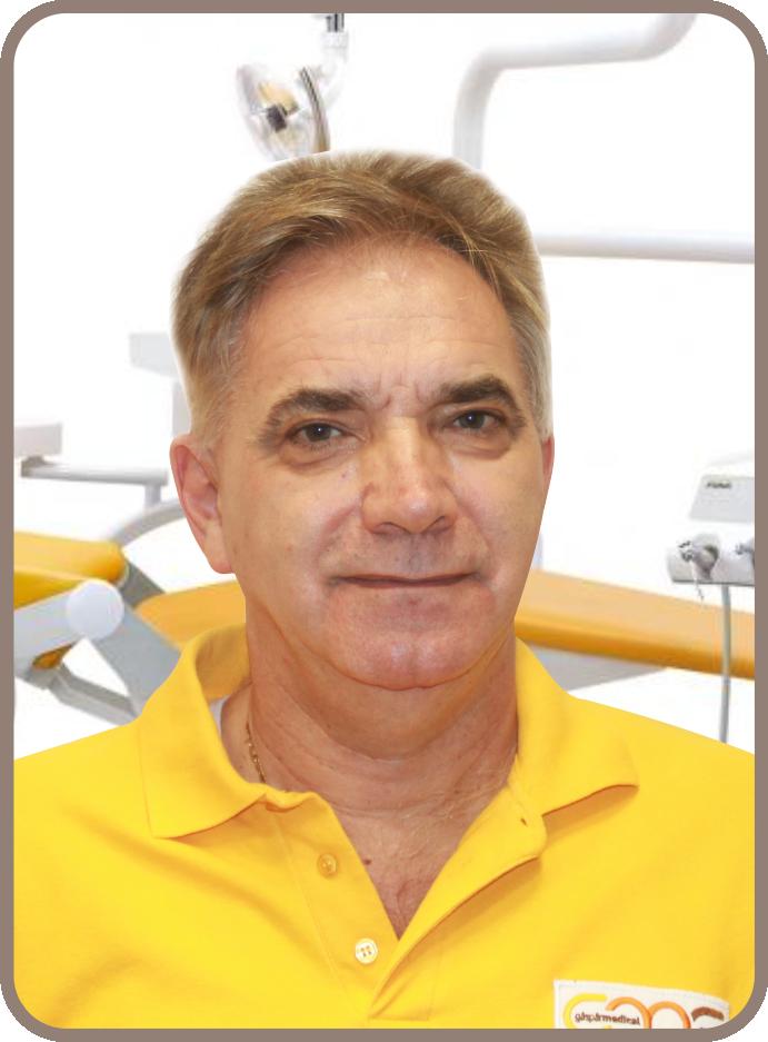 Dr Gáspár Lajos fogszakorvos, szájsebész, igazságügyi fogorvosszakértő, implantológia Gáspár Medical Center