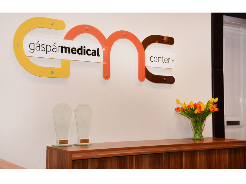 Gáspár Medical Center recepció